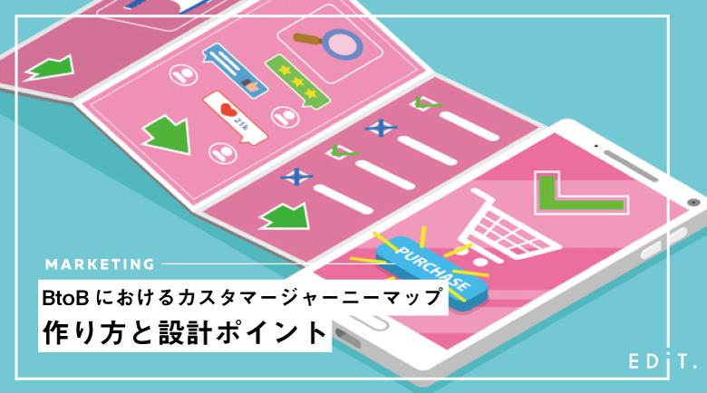 BtoBにおけるカスタマージャーニーマップの作り方と設計ポイント
